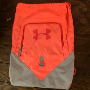 3/$25 Under Armor draw string backpack.